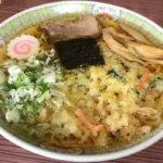 ※閉店しました【松本市のラーメン】斬新!天ぷらラーメンが有名な『しず本(松本市庄内)』は安くておいしい超アットホームな味のある店!