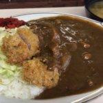 昔からのカレーの名店『キッチン南海 松本店(松本市中央4)』でビーフカツカレーを食す