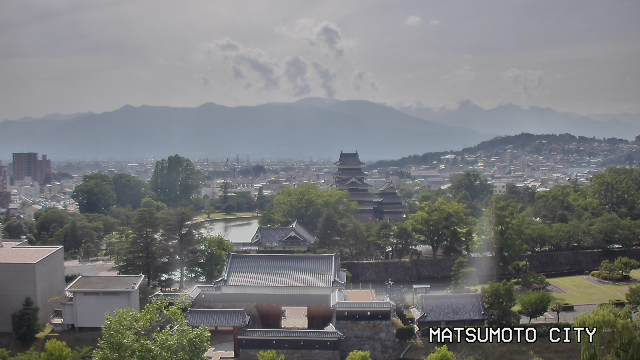 Matsumoto City Hall webcam