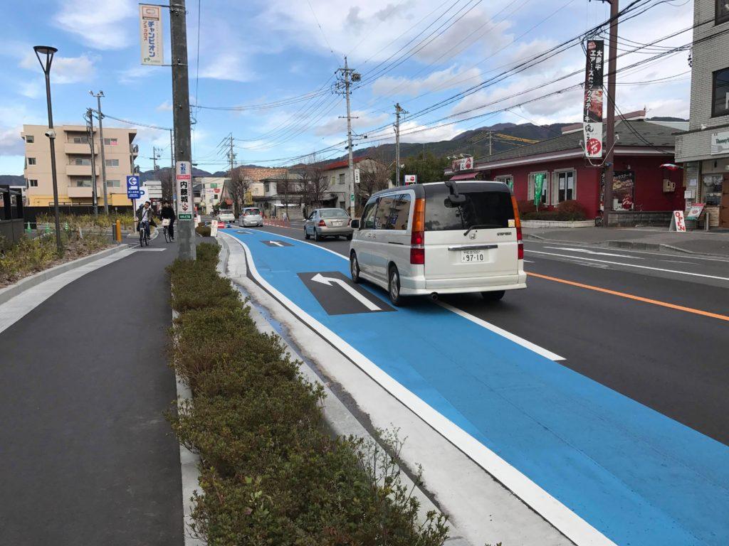 イオンモール松本 駐車場