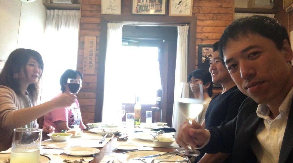 松本市 フレンチ レストラン ラトリエスズキでランチ