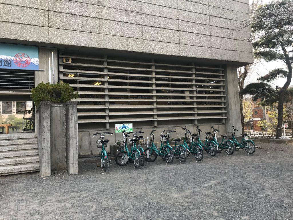 松本市の貸出自転車