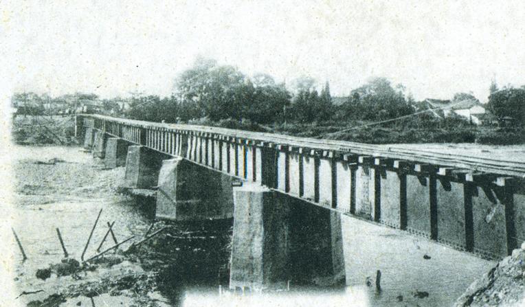 上高地線 奈良井川鉄橋