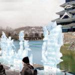 松本城氷彫フェスティバル2018|駐車場・行き方・楽しみ方
