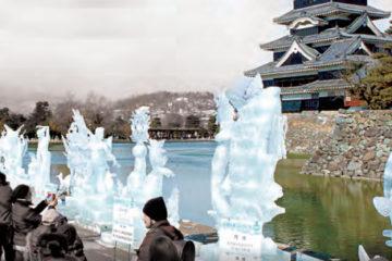 松本城氷彫フェスティバル