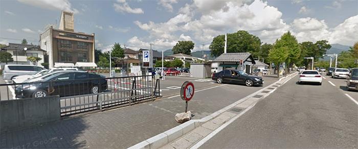 松本城 駐車場