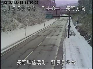 長野県信濃町野尻貫の木ライブカメラ