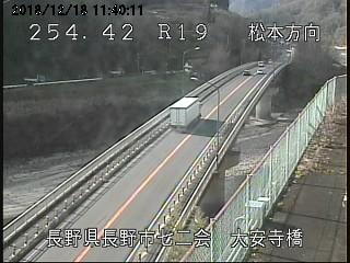 長野市七二会 大安寺橋ライブカメラ