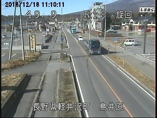 軽井沢鳥居原ライブカメラ