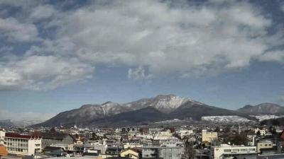 高社山(市役所屋上から北向き)