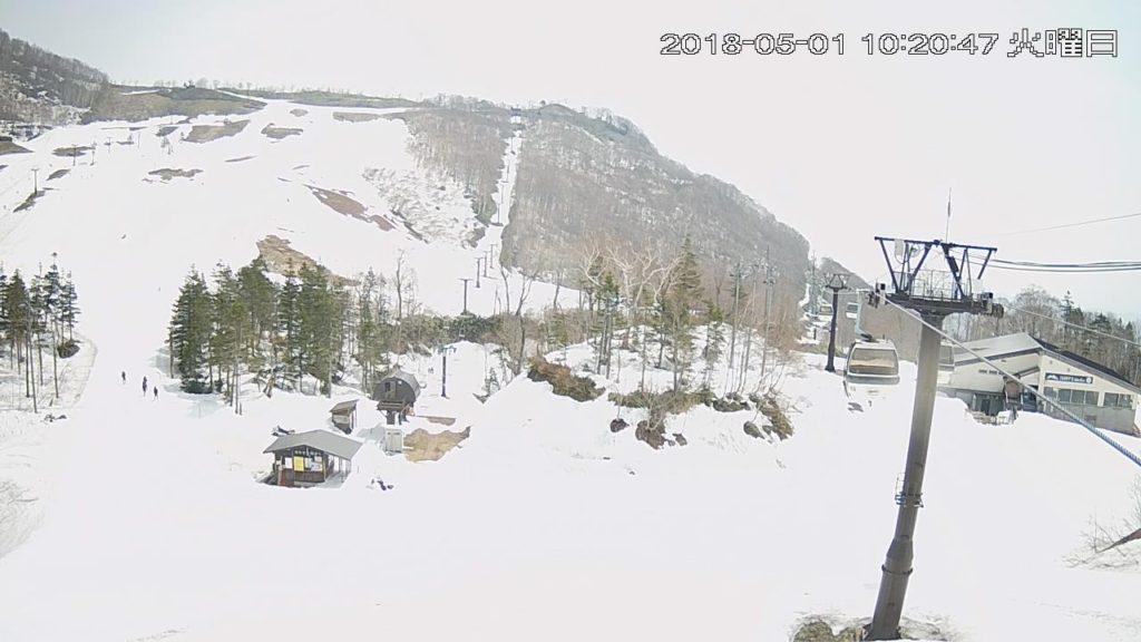 栂池高原スキー場(栂ノ森ゲレンデ)ライブカメラ