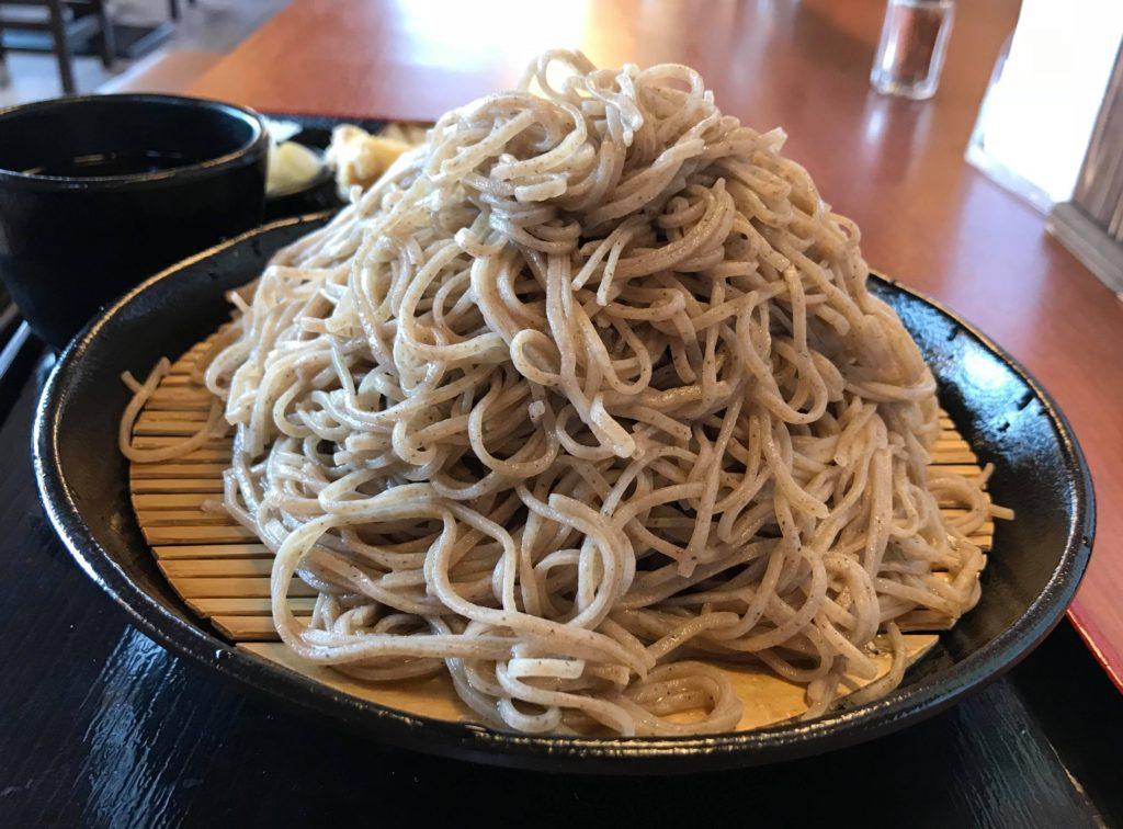 小木曽製粉所 松本駅前店 特盛ざるそば