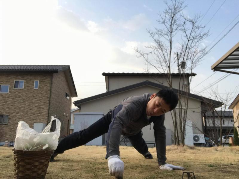 草取りトレーニング