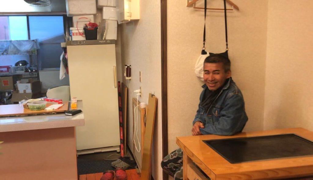 大阪風の鉄板焼き ぼんちゃん