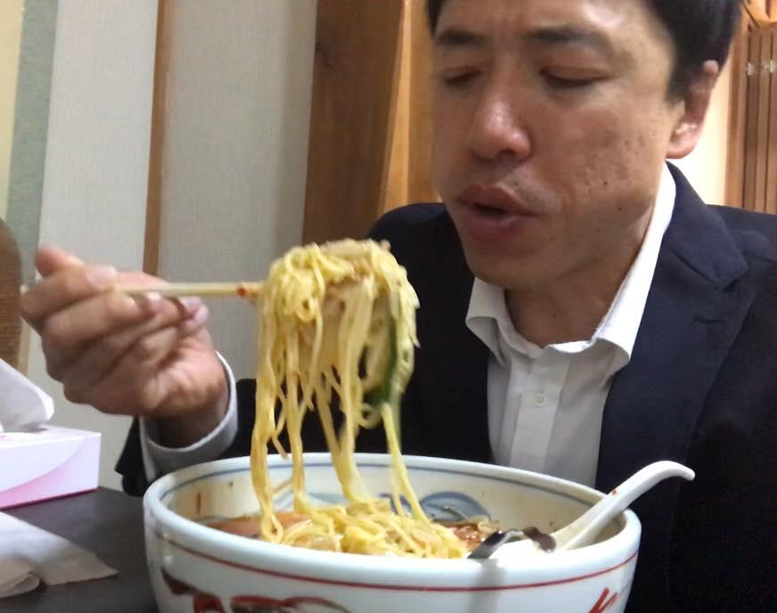 松本市の金太郎のラーメン