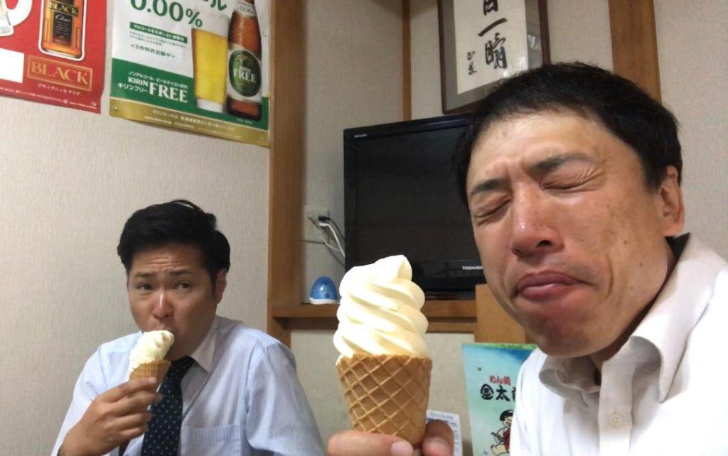 金太郎のソフトクリーム