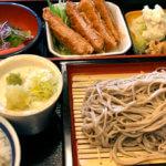 松本駅近く「郷土居酒屋 和利館」本格こだわり手打ちそばセットのランチがお得で美味い!