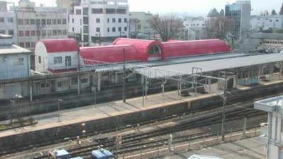 JR飯田駅ホームライブカメラ