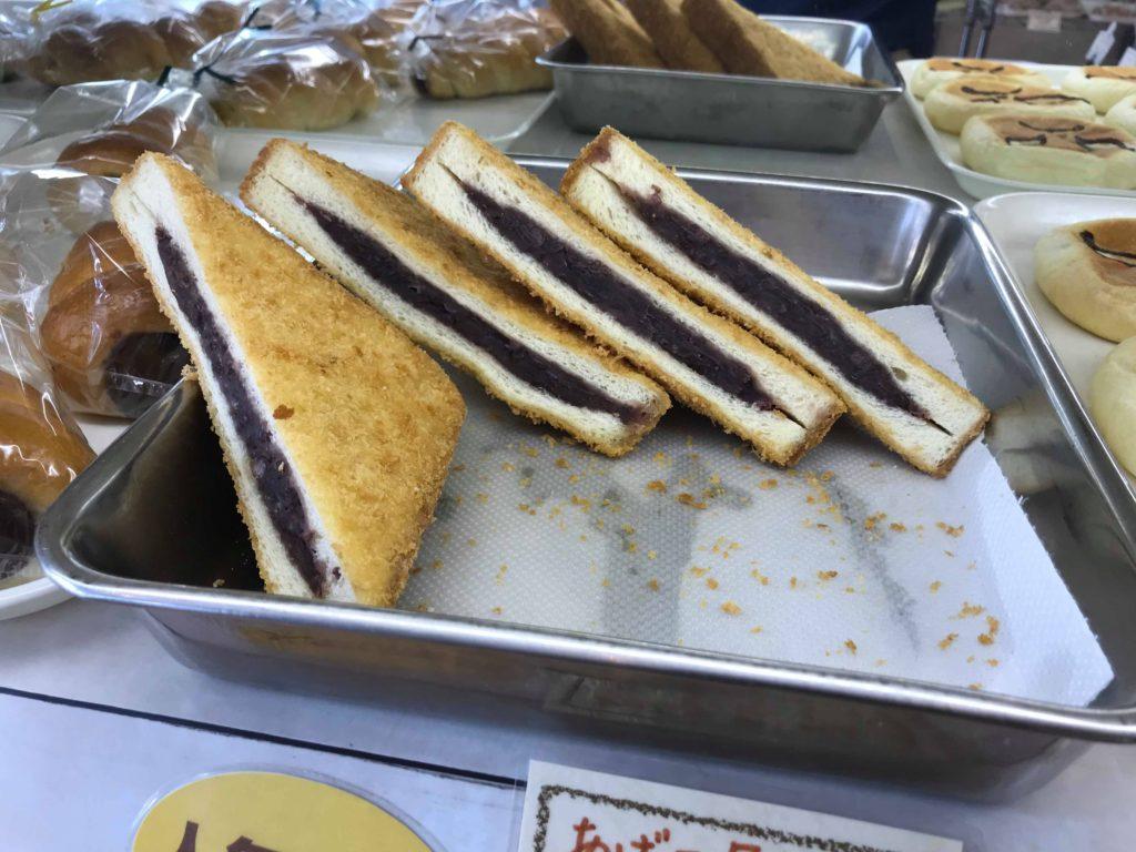 マルナカ 松本市のパン 三角パン
