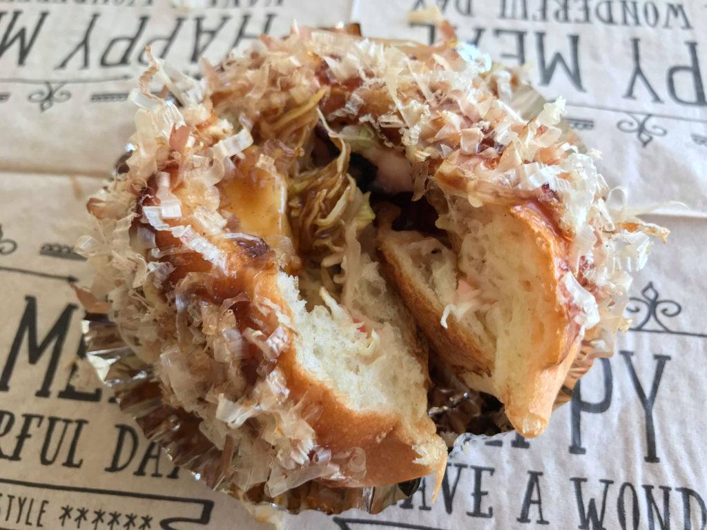 マルナカのパン たこ焼きパン