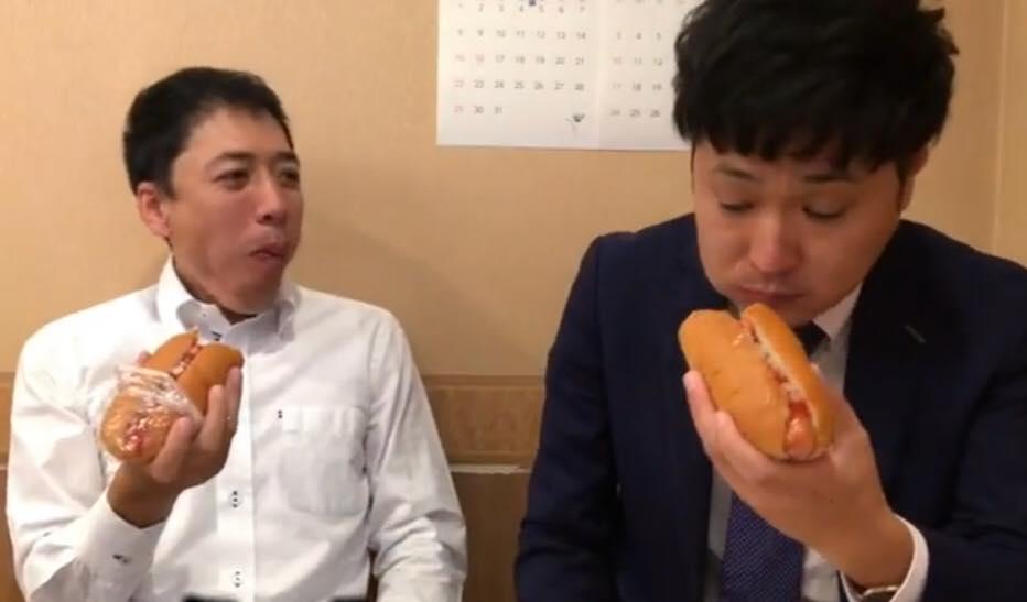 松本市のマルナカ、おいしいホットドッグ