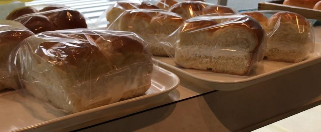 名物 牛乳パン