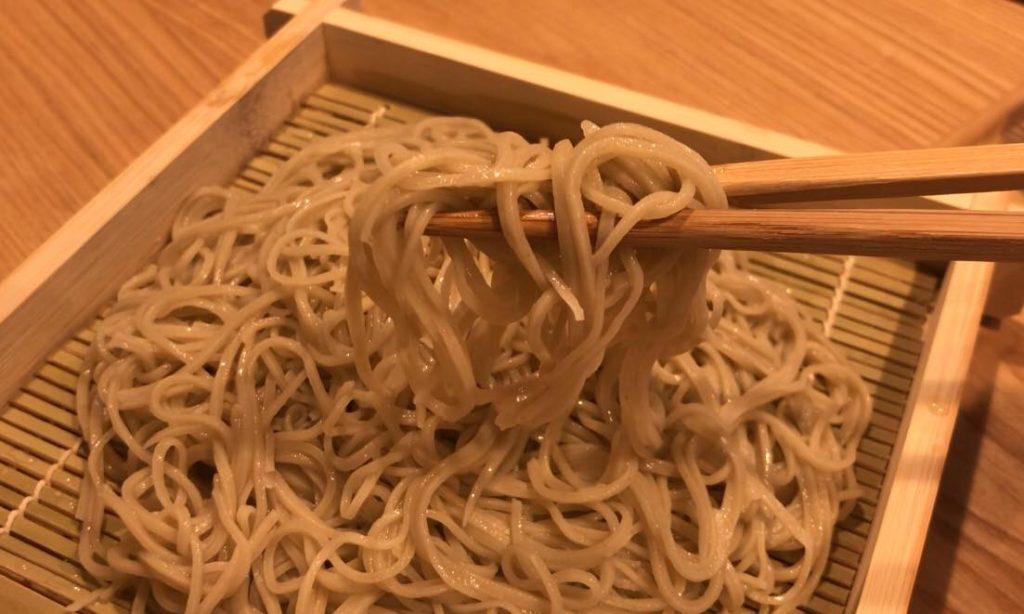 松本市に新しくできた蕎麦やさん「日より」