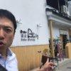 松本市 蕎麦 日より 外観