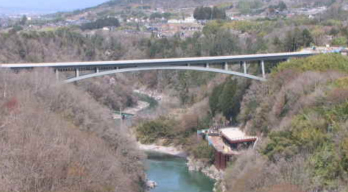 三遠南信自動車道 天龍峡大橋