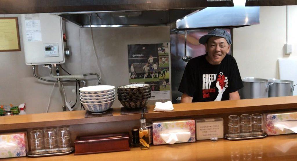 麺州 竹中のオーナー