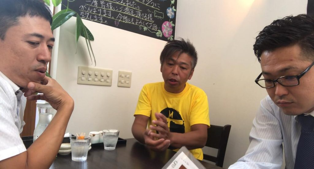 天ぷらの語源を語る柳沢アキラ
