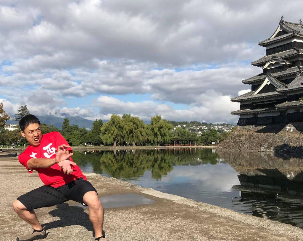 松本マラソン 松本城