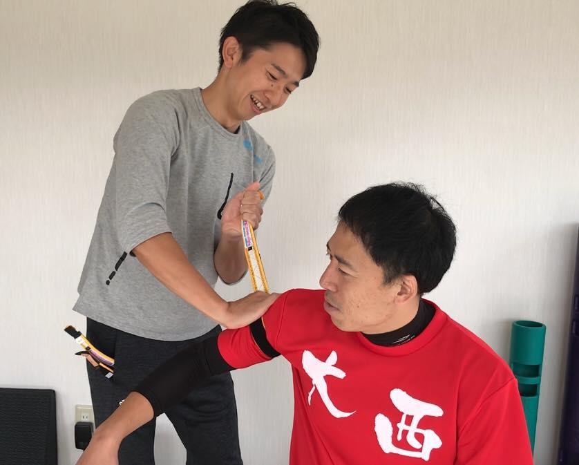 松本市 加圧トレーニングスタジオ ボアソルチで加圧トレーニング