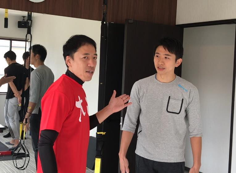 松本市 加圧トレーニングスタジオ ボアソルチの坂本トレーナー