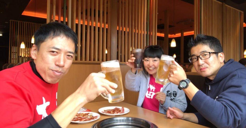 松本市 食べ放題 焼肉きんぐで乾杯