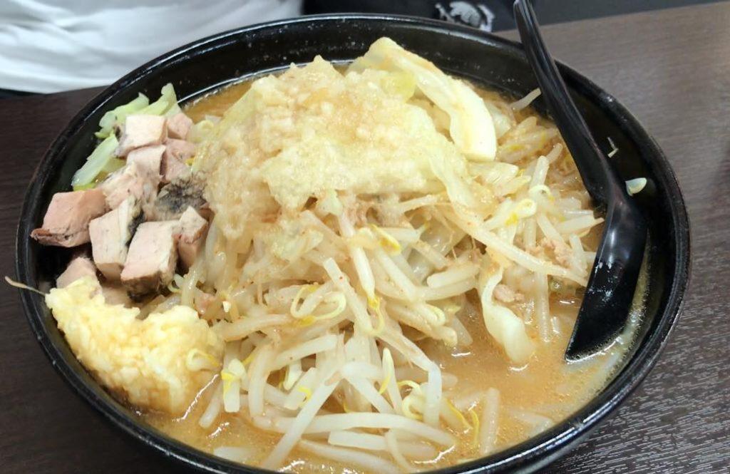 松本市ラーメン店 真武咲弥の二郎系