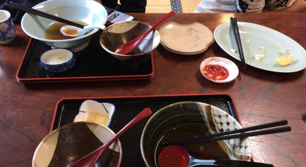 松本市 そば茶屋 松花でお昼ご飯