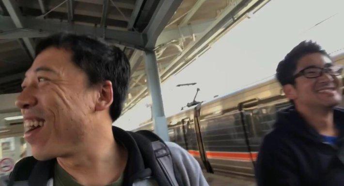 松本駅についたでんべろの旅