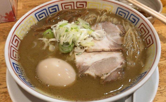 松本市の鶏白湯