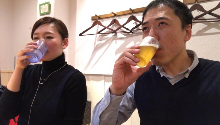 松本市 ラーメン 胡桃で飲む