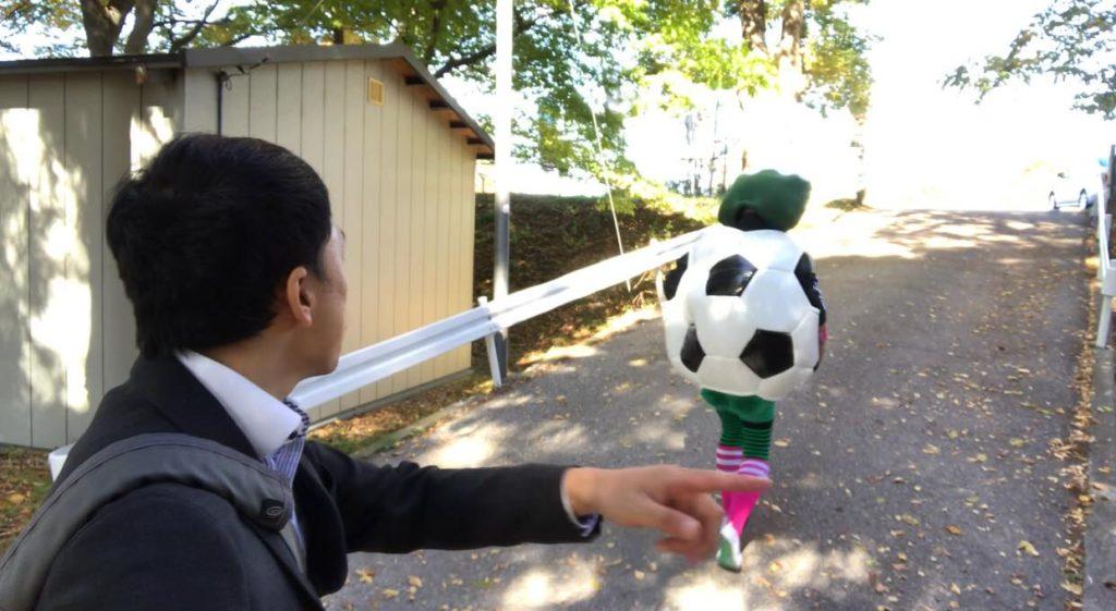 筑摩神社の森