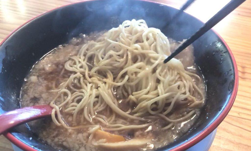 松本市 煮干しらぁめん 燕黒(つばくろ)の替玉