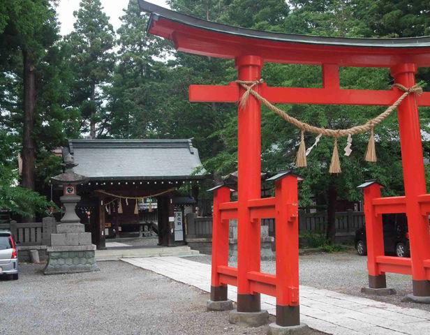 パワースポット 筑摩神社
