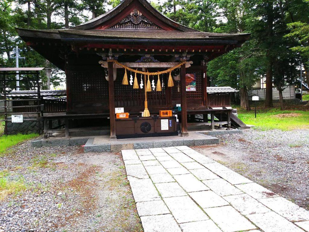 筑摩神社はパワースポット