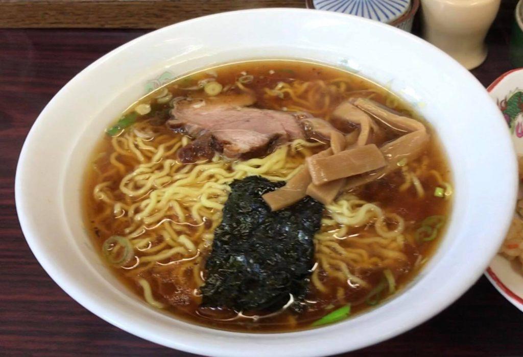 松本市 ラーメン 食堂 わかまつのラーメン