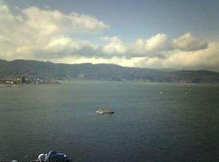 ホテル紅やからの諏訪湖