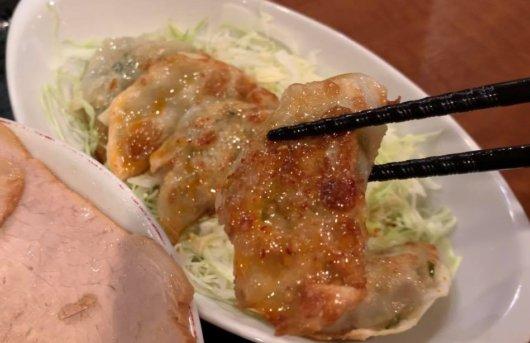 飯田市のラーメン 上海楼の餃子