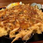 超デカい!圧巻の白エビかき揚げ丼「おさかな食堂 くろべえ」