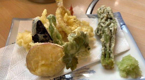 からさわ亭の天ぷら