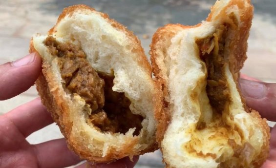 松本市 カレーパン 小松パン